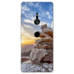 Funda Gel Tpu para Sony Xperia XZ3 Diseño Sunset Dibujos