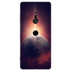 Funda Gel Tpu para Sony Xperia XZ3 Diseño Tierra Dibujos