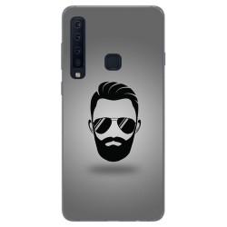 Funda Gel Tpu para Samsung Galaxy A9 (2018) Diseño Barba Dibujos