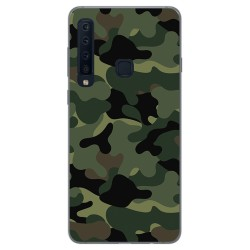 Funda Gel Tpu para Samsung Galaxy A9 (2018) Diseño Camuflaje Dibujos