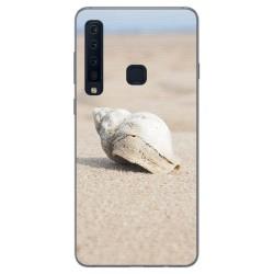 Funda Gel Tpu para Samsung Galaxy A9 (2018) Diseño Concha Dibujos