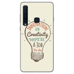 Funda Gel Tpu para Samsung Galaxy A9 (2018) Diseño Creativity Dibujos