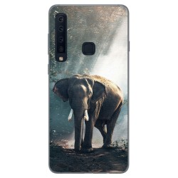 Funda Gel Tpu para Samsung Galaxy A9 (2018) Diseño Elefante Dibujos
