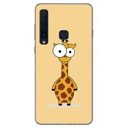 Funda Gel Tpu para Samsung Galaxy A9 (2018) Diseño Jirafa Dibujos