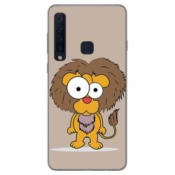 Funda Gel Tpu para Samsung Galaxy A9 (2018) Diseño Leon Dibujos