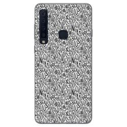 Funda Gel Tpu para Samsung Galaxy A9 (2018) Diseño Letras Dibujos