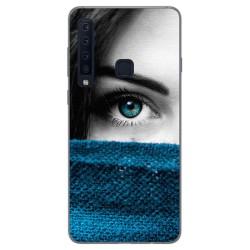 Funda Gel Tpu para Samsung Galaxy A9 (2018) Diseño Ojo Dibujos