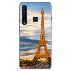 Funda Gel Tpu para Samsung Galaxy A9 (2018) Diseño Paris Dibujos