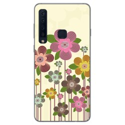Funda Gel Tpu para Samsung Galaxy A9 (2018) Diseño Primavera En Flor Dibujos