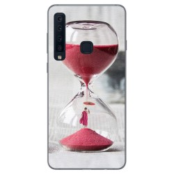 Funda Gel Tpu para Samsung Galaxy A9 (2018) Diseño Reloj Dibujos