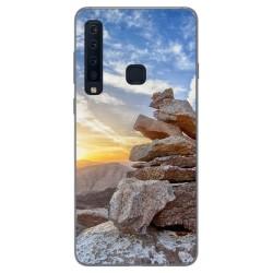 Funda Gel Tpu para Samsung Galaxy A9 (2018) Diseño Sunset Dibujos