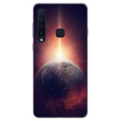 Funda Gel Tpu para Samsung Galaxy A9 (2018) Diseño Tierra Dibujos