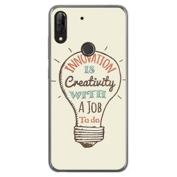 Funda Gel Tpu para Wiko View2 Plus diseño Creativity Dibujos