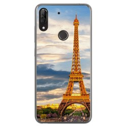Funda Gel Tpu para Wiko View2 Plus diseño Paris Dibujos