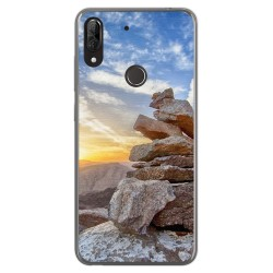 Funda Gel Tpu para Wiko View2 Plus diseño Sunset Dibujos