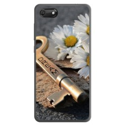 Funda Gel Tpu para Wiko Harry2 diseño Dream Dibujos