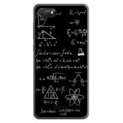 Funda Gel Tpu para Wiko Harry2 diseño Formulas Dibujos