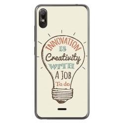Funda Gel Tpu para Wiko View2 Go diseño Creativity Dibujos
