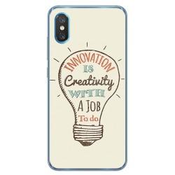 Funda Gel Tpu para Xiaomi Mi 8 Pro diseño Creativity Dibujos