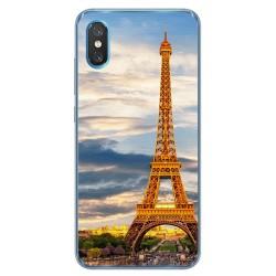 Funda Gel Tpu para Xiaomi Mi 8 Pro diseño Paris Dibujos