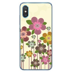 Funda Gel Tpu para Xiaomi Mi 8 Pro diseño Primavera En Flor Dibujos