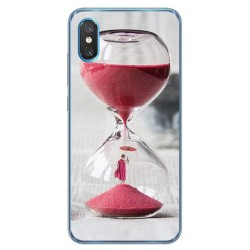Funda Gel Tpu para Xiaomi Mi 8 Pro diseño Reloj Dibujos
