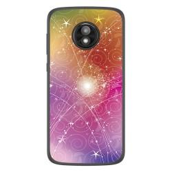 Funda Gel Tpu para Motorola Moto E5 Play diseño Abstracto Dibujos