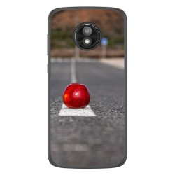 Funda Gel Tpu para Motorola Moto E5 Play diseño Apple Dibujos