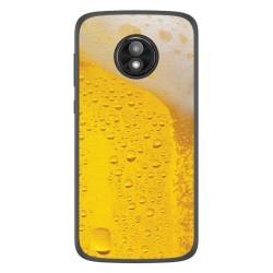 Funda Gel Tpu para Motorola Moto E5 Play diseño Cerveza Dibujos