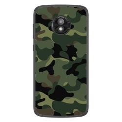 Funda Gel Tpu para Motorola Moto E5 Play diseño Camuflaje Dibujos