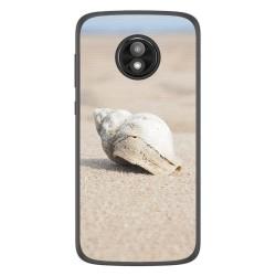 Funda Gel Tpu para Motorola Moto E5 Play diseño Concha Dibujos