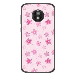 Funda Gel Tpu para Motorola Moto E5 Play diseño Flores Dibujos