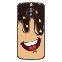 Funda Gel Tpu para Motorola Moto E5 Play diseño Helado Chocolate Dibujos