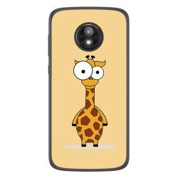Funda Gel Tpu para Motorola Moto E5 Play diseño Jirafa Dibujos
