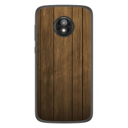 Funda Gel Tpu para Motorola Moto E5 Play diseño Madera Dibujos