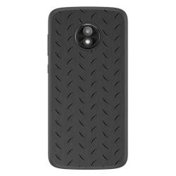Funda Gel Tpu para Motorola Moto E5 Play diseño Metal Dibujos