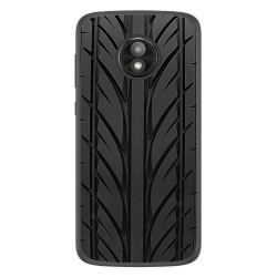 Funda Gel Tpu para Motorola Moto E5 Play diseño Neumatico Dibujos