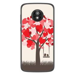 Funda Gel Tpu para Motorola Moto E5 Play diseño Pajaritos Dibujos
