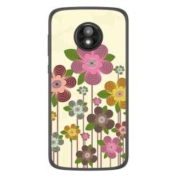 Funda Gel Tpu para Motorola Moto E5 Play diseño Primavera En Flor Dibujos