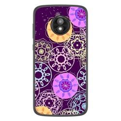 Funda Gel Tpu para Motorola Moto E5 Play diseño Radial Dibujos