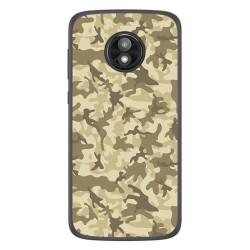 Funda Gel Tpu para Motorola Moto E5 Play diseño Sand Camuflaje Dibujos