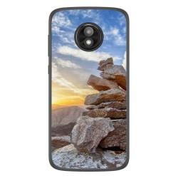 Funda Gel Tpu para Motorola Moto E5 Play diseño Sunset Dibujos