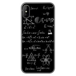 Funda Gel Tpu para DOOGEE X70 diseño Formulas Dibujos