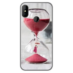 Funda Gel Tpu para DOOGEE X70 diseño Reloj Dibujos