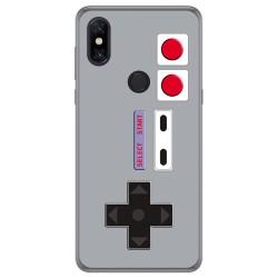 Funda Gel Tpu para Xiaomi Mi Mix 3 diseño Consola Dibujos