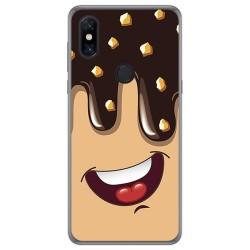 Funda Gel Tpu para Xiaomi Mi Mix 3 diseño Helado Chocolate Dibujos