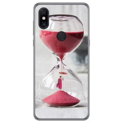 Funda Gel Tpu para Xiaomi Mi Mix 3 diseño Reloj Dibujos