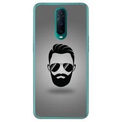 Funda Gel Tpu para Oppo RX17 Pro diseño Barba Dibujos