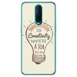 Funda Gel Tpu para Oppo RX17 Pro diseño Creativity Dibujos