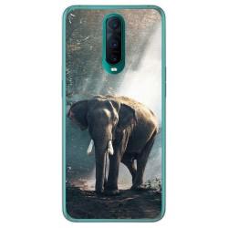 Funda Gel Tpu para Oppo RX17 Pro diseño Elefante Dibujos